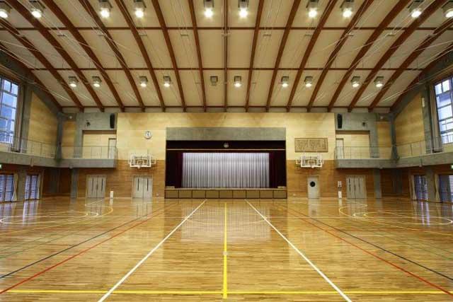 下呂小学校体育館